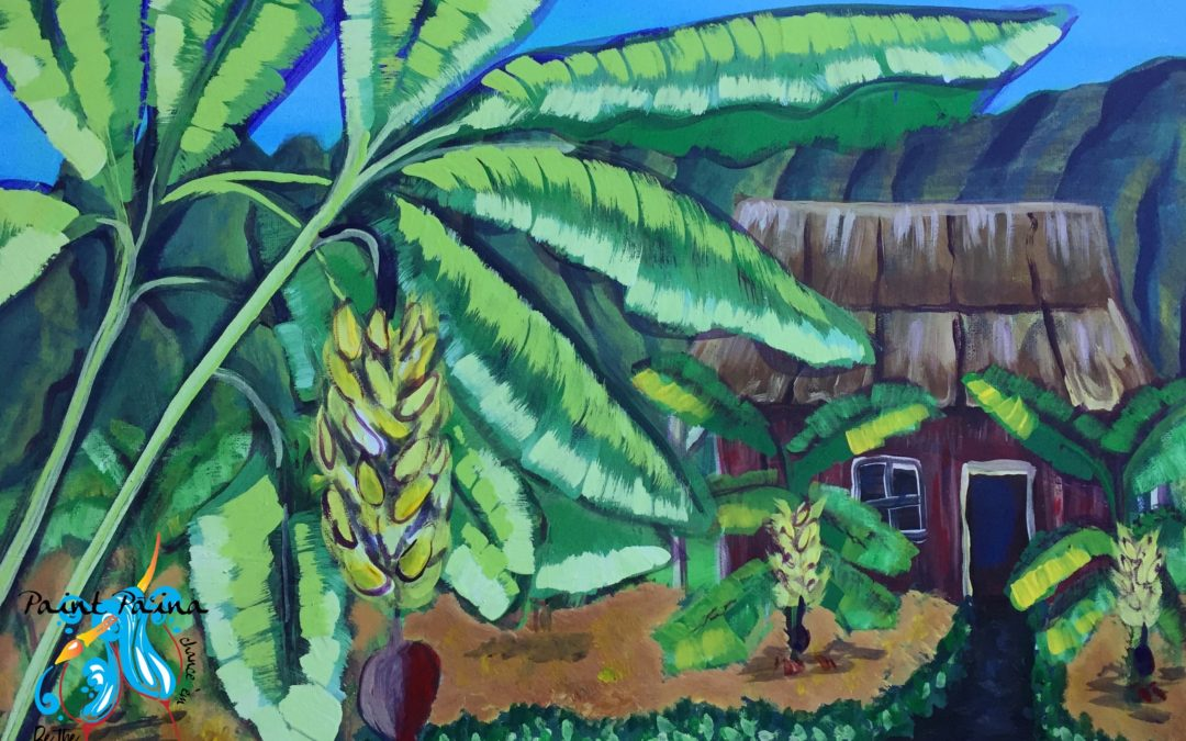 Paint Pāʻina – at Turtle Bay Resort – Lobby Lounge – Banana Patch