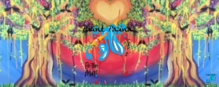 Paint Pāʻina – at Turtle Bay Resort – Lobby Lounge – Valentines Day!