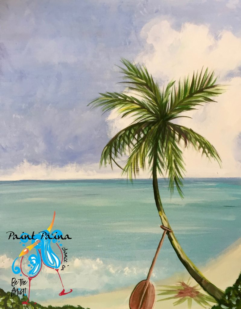 Whereʻs my Paddle, paint party, paint paina, paint party Hawaii, Hawaiian style entertainment