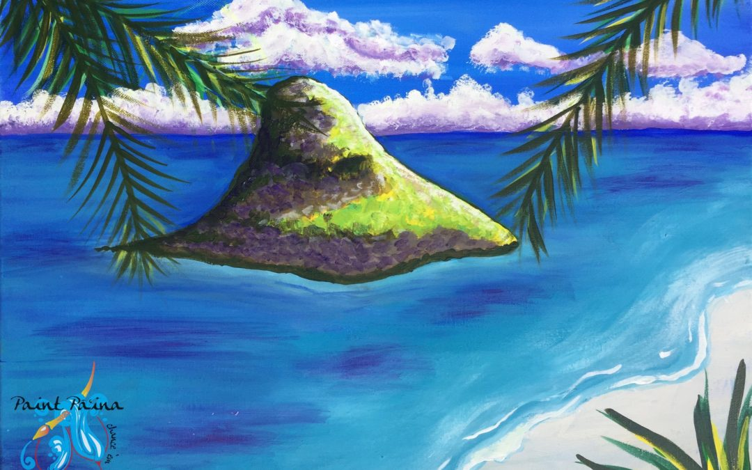 Paint Pāʻina – at Turtle Bay Resort – Lobby Lounge – Chinamanʻs Hat