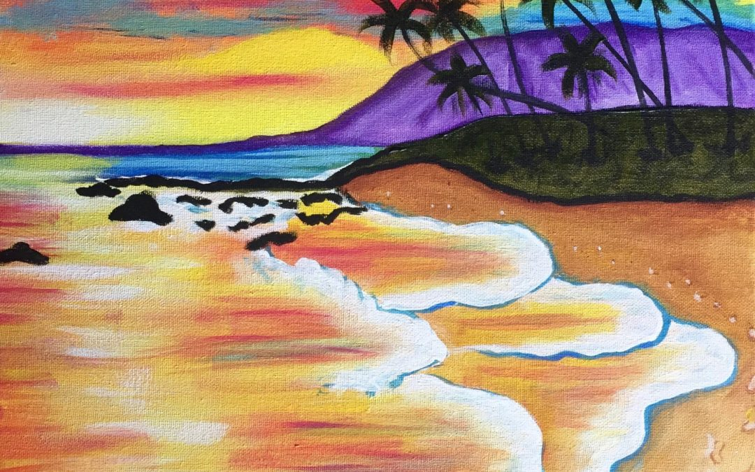 Paint Pāʻina – at Turtle Bay Resort – Lobby Lounge – West Side