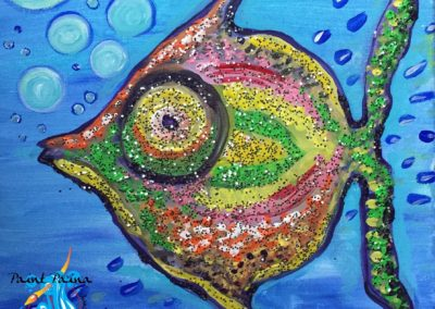 Glitter Fish, Childrenʻs paint party