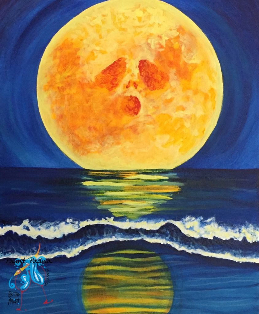 Harvest Moon, paint party