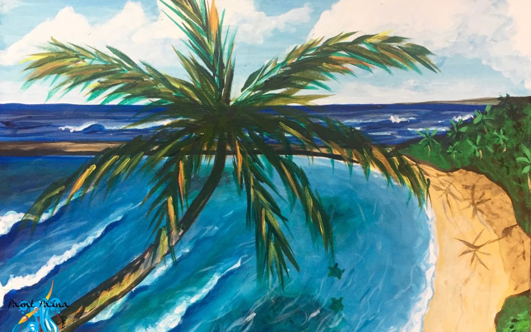 Paint Pāʻina – at Turtle Bay Resort – Lobby Lounge – View from the Lobby Lounge
