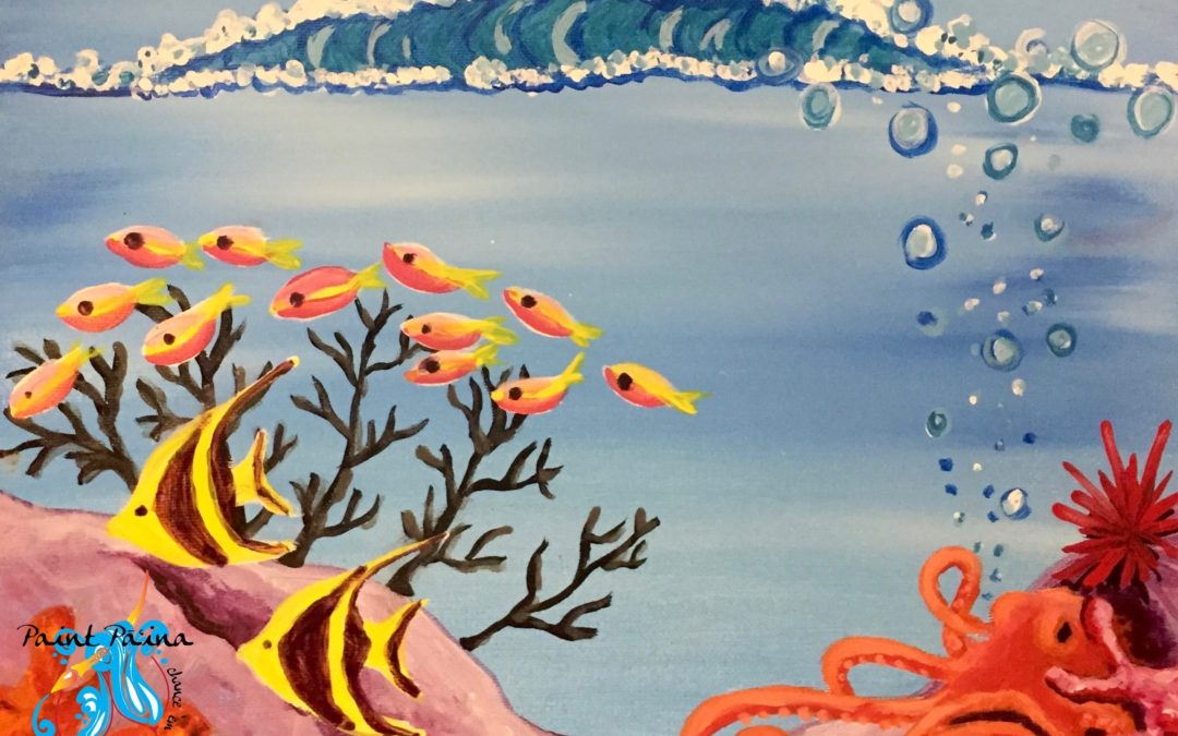 Paint Pāʻina – at Turtle Bay Resort – Lobby Lounge – Ocean Garden