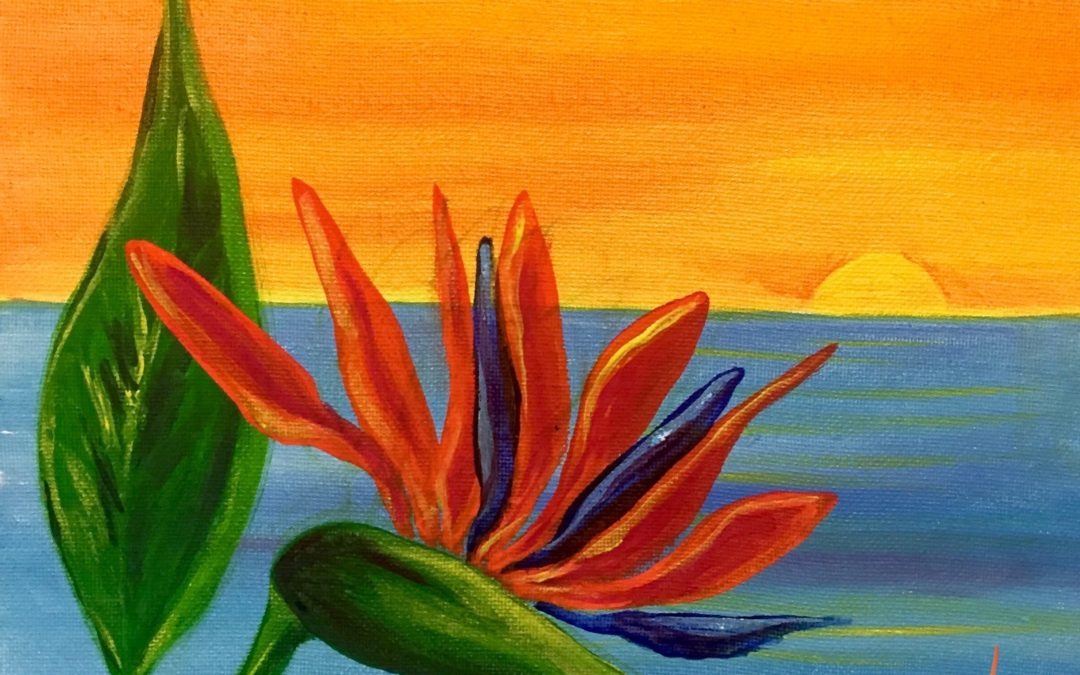 Paint Pāʻina – at Turtle Bay Resort – Lobby Lounge – Sunset Paradise