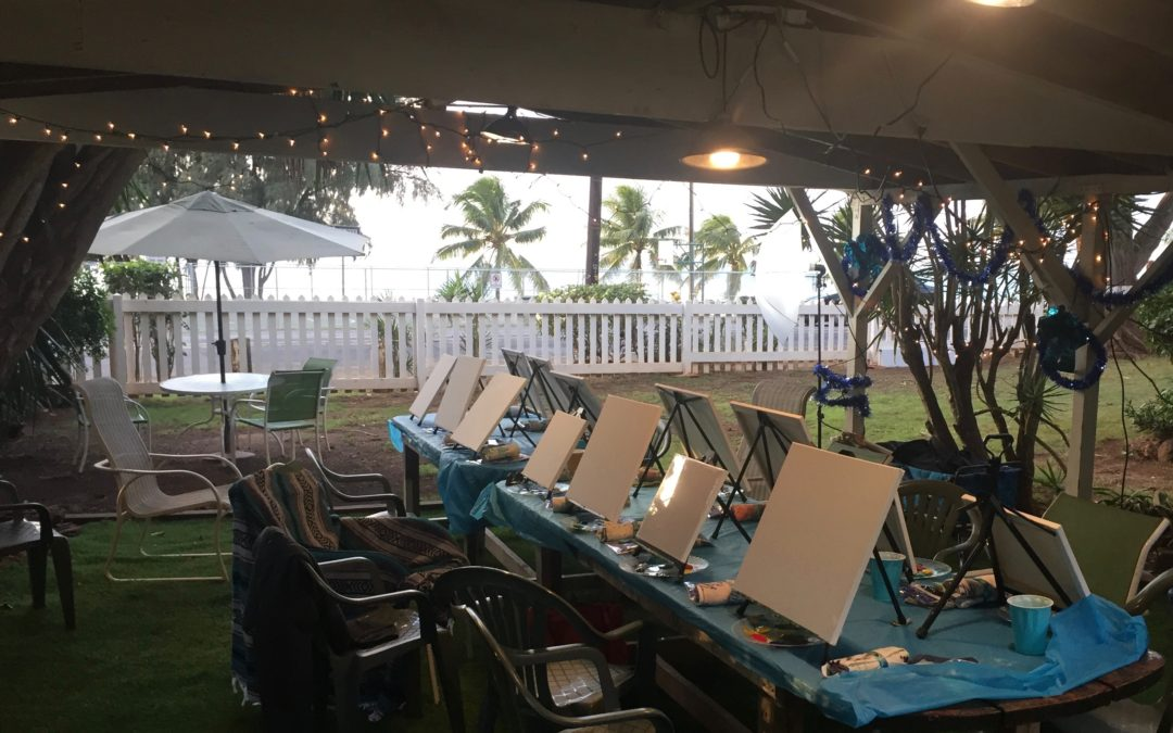 Paint Pāʻina – at Turtle Bay Resort – The Spot – Private Party