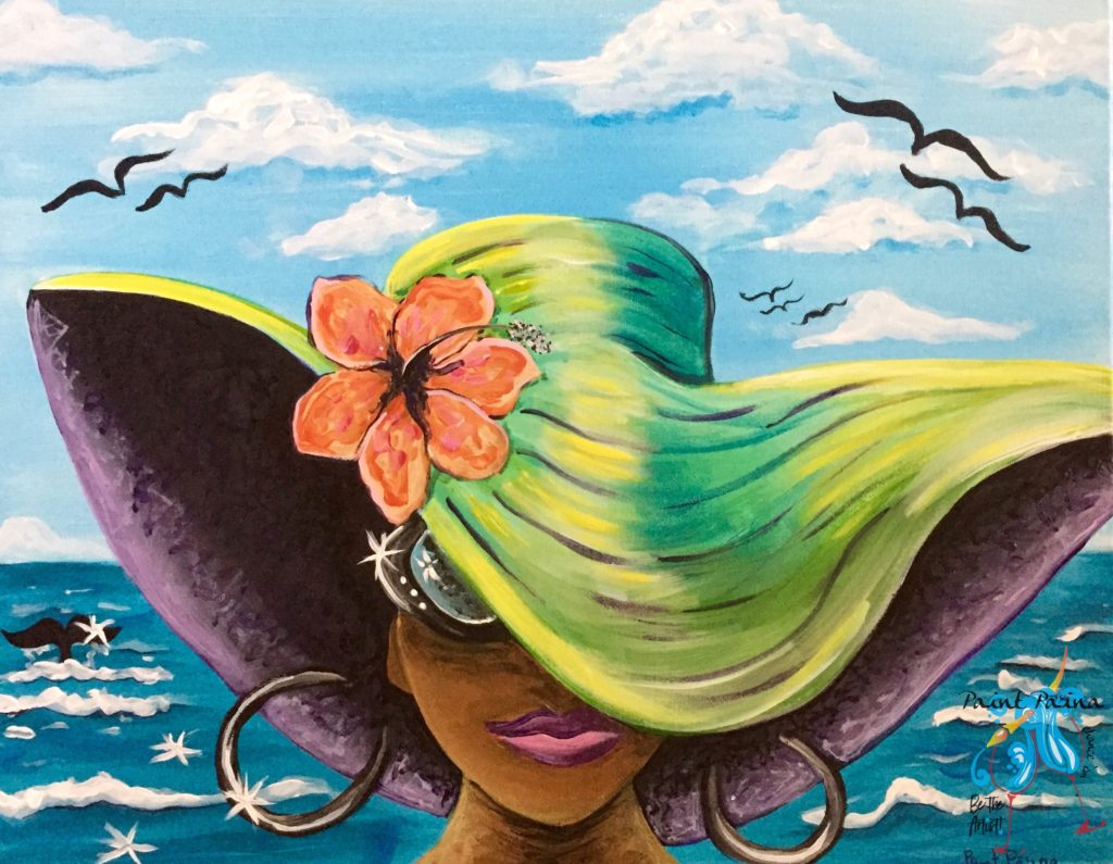 Painting a Beautiful Day in Hawaii Nei