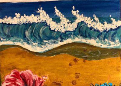 JUMP IN, Paint Pāʻina, paint party