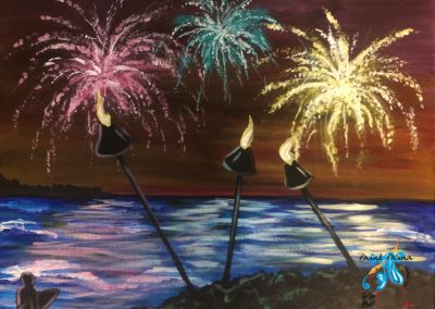July 4rth! Paint Party